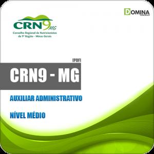 Apostila Concurso CRN 9ª Região MG 2019 Auxiliar Administrativo