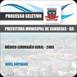 Apostila Concurso Pref Candeias BA 2019 Médico Cirurgião Geral