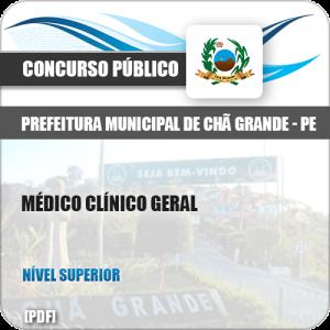 Apostila Concurso Pref Chã Grande PE 2019 Médico Clínico Geral