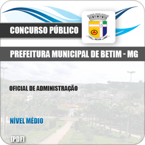 Apostila Concurso ISS Betim MG 2019 Oficial de Administração