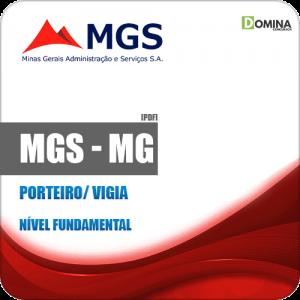Apostila Concurso Público MGS MG 2019 Porteiro Vigia