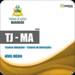Apostila TJ MA 2019 Técnico Judiciário Técnico em Edificações
