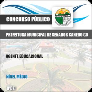 Apostila Concurso Pref Senador Canedo GO 2019 Agente Educacional