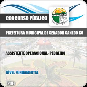 Apostila Concurso Pref Senador Canedo GO 2019 Pedreiro