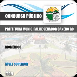 Apostila Concurso Pref Senador Canedo GO 2019 Biomédico