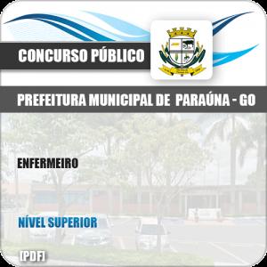 Apostila Concurso Público Pref Paraúna SP 2019 Enfermeiro