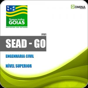 Apostila Concurso Público SEAD GO 2019 Engenharia Civil
