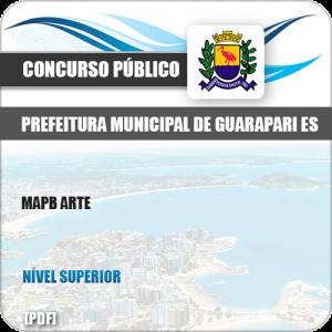 Apostila Concurso Público Pref de Guarapari ES 2019 MAPA Arte