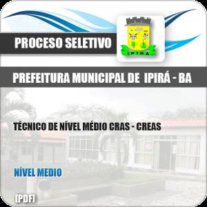 Apostila Pref Ipirá BA 2019 Técnico Nível Médio CRAS CREAS