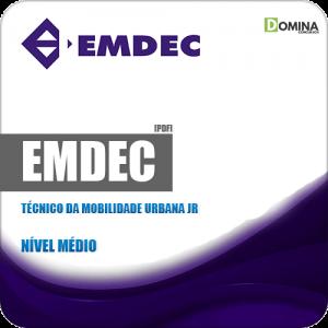 Apostila Concurso EMDEC SP 2019 Técnico Mobilidade Urbana Jr