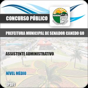Apostila Pref Senador Canedo GO 2019 Assistente Administrativo