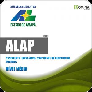 Apostila ALAP 2019 Ass Legislativo Assistente Registro Imagens