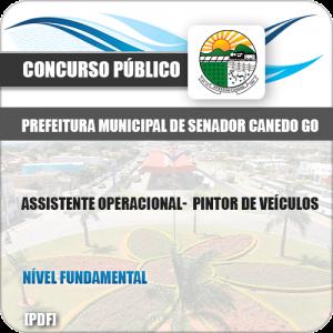 Apostila Pref Senador Canedo GO 2019 Pintor de Veículos