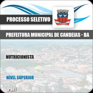 Apostila Concurso Público Pref Candeias BA 2019 Nutricionista