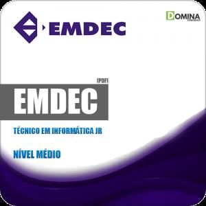 Apostila Concurso EMDEC SP 2019 Técnico em Informática Jr