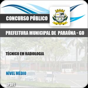 Apostila Concurso Pref Paraúna SP 2019 Técnico em Radiologia