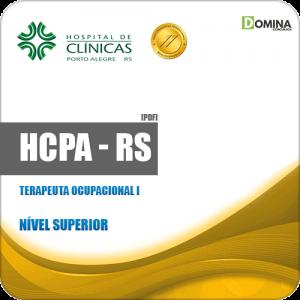 Apostila Processo Seletivo HCPA RS 2019 Terapeuta Ocupacional I