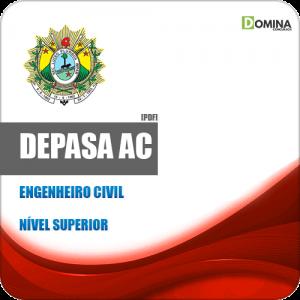 Apostila Processo Seletivo DEPASA AC 2019 Engenheiro Civil