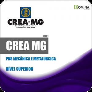 Apostila Concurso CREA MG 2019 PNS Mecânica e Metalurgica