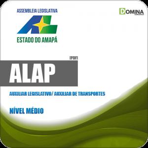 Apostila ALAP 2019 Auxiliar Legislativo Auxiliar de Transportes