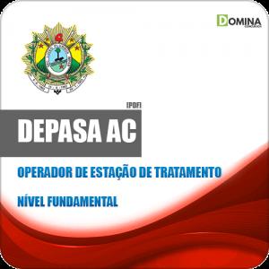 Apostila Seletivo DEPASA AC 2019 Operador Estação Tratamento