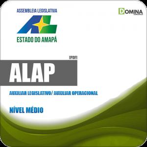 Apostila ALAP 2019 Auxiliar Legislativo Auxiliar Operacional