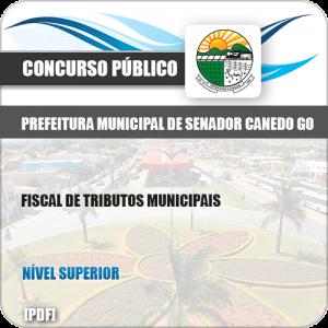 Apostila Pref Senador Canedo GO 2019 Fiscal Tributos Municipais