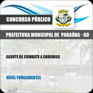 Apostila Pref Paraúna SP 2019 Agente de Combate a Endemias