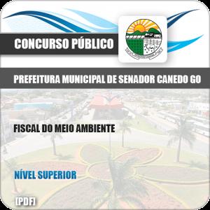 Apostila Pref Senador Canedo GO 2019 Fiscal do Meio Ambiente