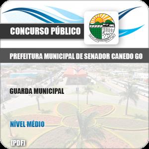 Apostila Concurso Pref Senador Canedo GO 2019 Guarda Municipal