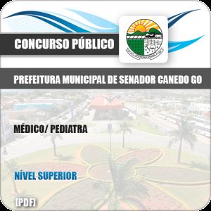 Apostila Concurso Pref Senador Canedo GO 2019 Médico Pediatra