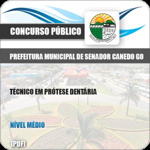Apostila Pref Senador Canedo GO 2019 Técnico Prótese Dentária