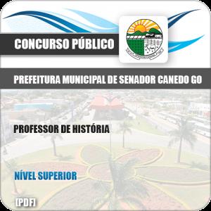 Apostila Pref Senador Canedo GO 2019 Professor de História