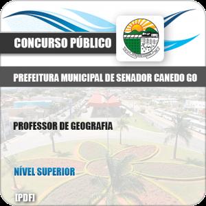Apostila Pref Senador Canedo GO 2019 Professor de Geografia