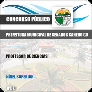 Apostila Pref Senador Canedo GO 2019 Professor de Ciências