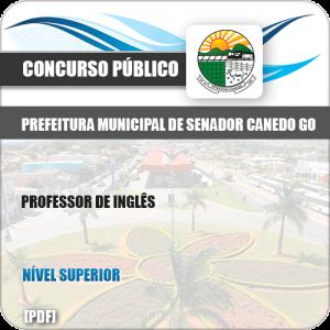 Apostila Pref Senador Canedo GO 2019 Professor de Inglês