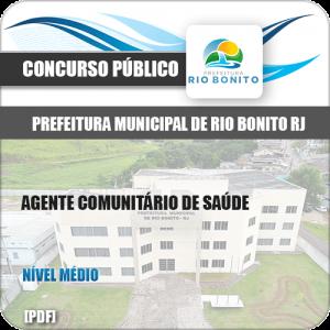 Apostila Pref Rio Bonito RJ 2019 Agente Comunitário de Saúde