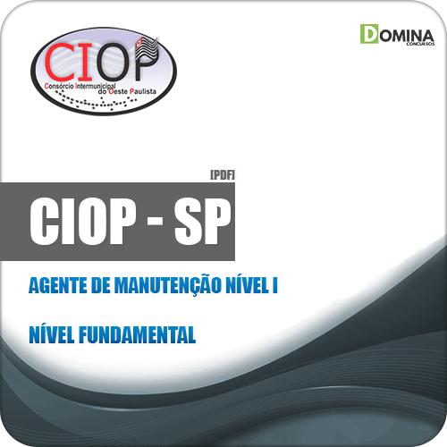 Apostila Seletivo CIOP SP 2019 Agente Manutenção Nível I
