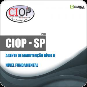 Apostila Seletivo CIOP SP 2019 Agente Manutenção Nível II