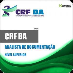 Apostila Concurso CRF BA 2019 Analista de Documentação