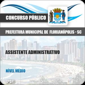 Apostila Pref Florianópolis SC 2019 Assistente Administrativo