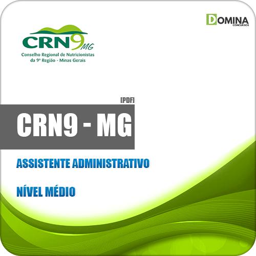 Apostila CRN 9ª Região MG 2019 Assistente Administrativo