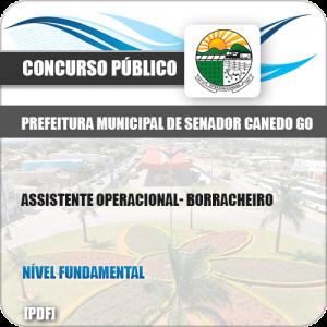 Apostila Concurso Pref Senador Canedo GO 2019 Borracheiro