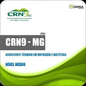 Apostila CRN 9ª Região MG 2019 Assistente Tec Nutrição Dietética