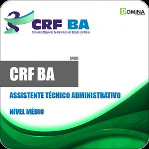 Apostila Concurso CRF BA 2019 Assistente Técnico Administrativo