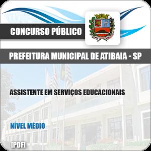 Apostila Pref Atibaia SP 2019 Assistente em Serviços Educacionais