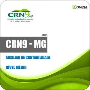 Apostila Concurso CRN 9ª Região MG 2019 Auxiliar Contabilidade