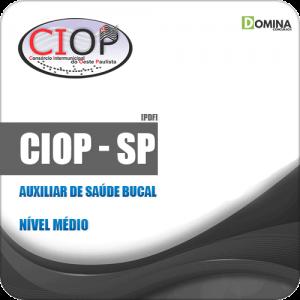 Apostila CIOP Presidente Prudente SP 2019 Auxiliar de Saúde Bucal