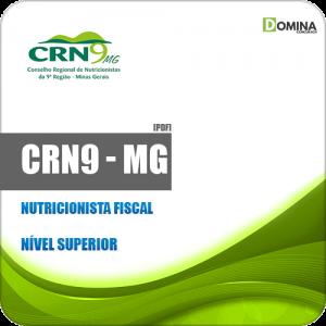 Apostila Concurso CRN 9ª Região MG 2019 Nutricionista Fiscal