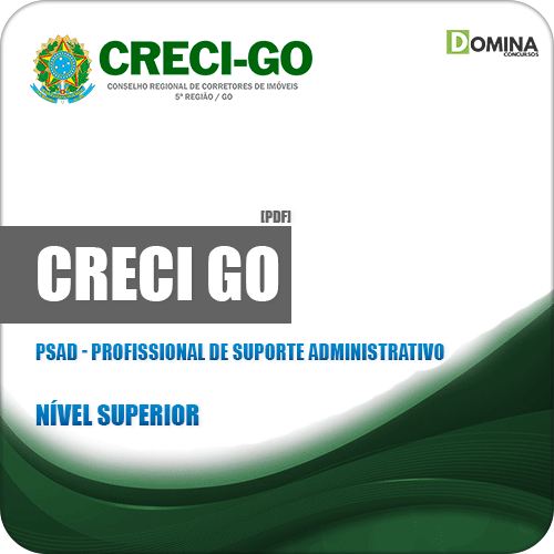 Apostila CRECI GO 2019 PSAD Profissional Suporte Administrativo